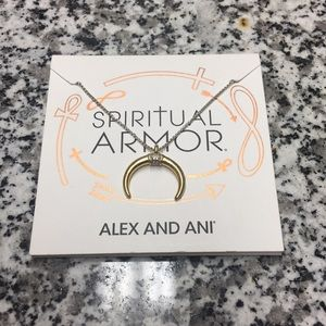 Alex And Ani Spiritual Armor Necklace